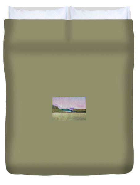 Lakes Of Killarney Duvet Cover