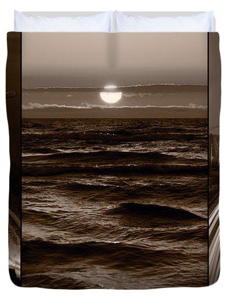Lakeshore Chicago Duvet Cover by Steve Gadomski