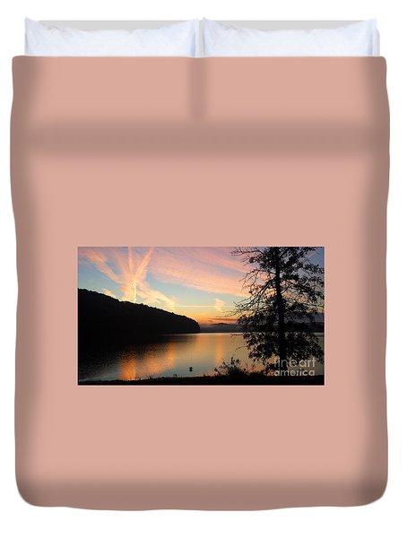 Lakeside Dreaming Duvet Cover