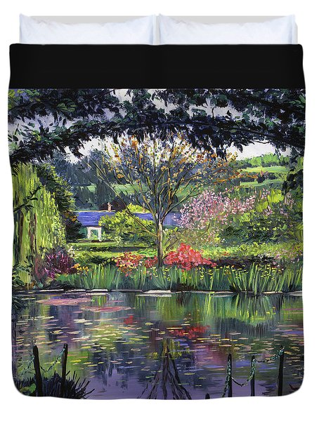 Lakeside Giverny Duvet Cover