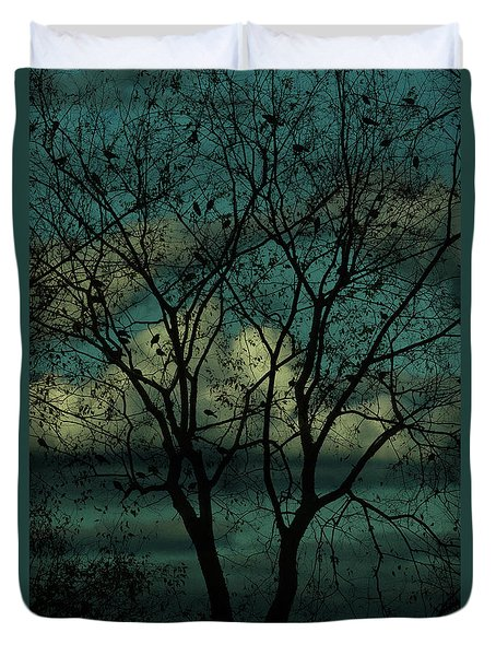 Lakeside Morning Duvet Cover