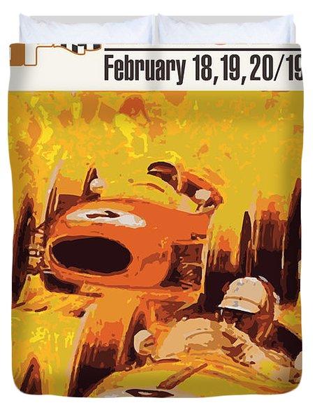 Lakeside Racing Duvet Cover