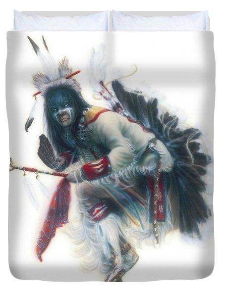 Lakota Dancer Duvet Cover