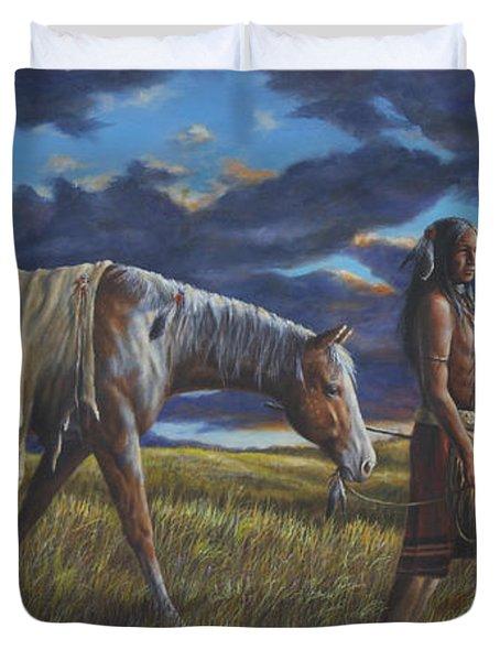 Lakota Sunrise Duvet Cover
