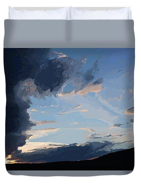 Lamar Sunset Duvet Cover