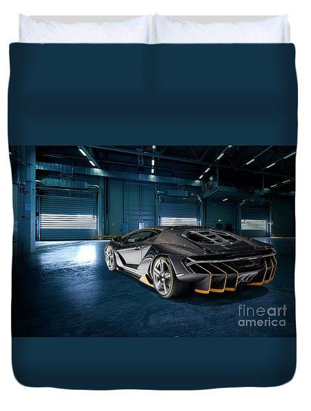 Lamborghini Centenario Lp 770-4 Duvet Cover