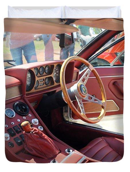 Lamborghini Espada Series 2 Interior Duvet Cover