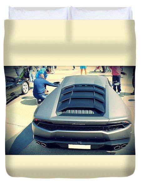 Lamborghini Huracan Lp 610-4 Duvet Cover