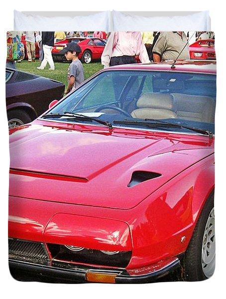 Lamborghini Jarama S Duvet Cover
