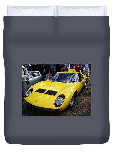 Lamborghini Miura P400 S Duvet Cover