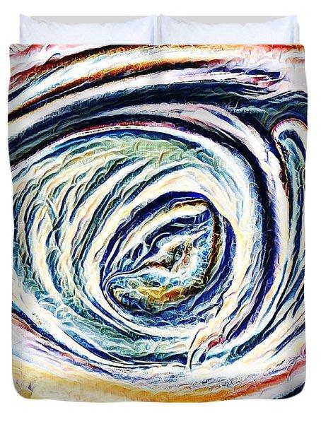 Lamentations Duvet Cover