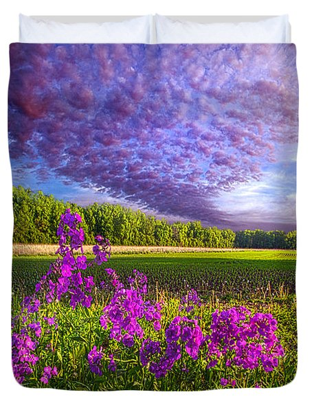 L'amore De Ma Vie Duvet Cover by Phil Koch