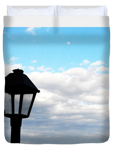 Lamp Post Duvet Cover