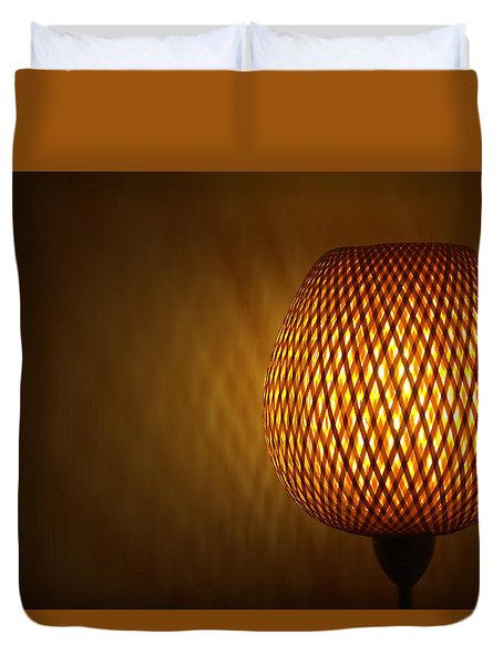 Lamp Duvet Cover