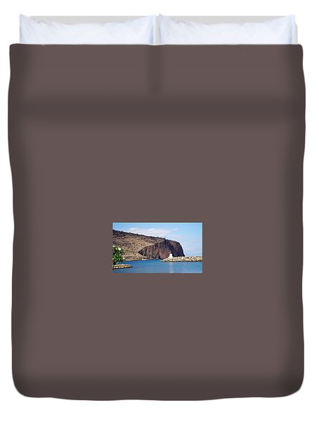 Lanai Harbor Duvet Cover