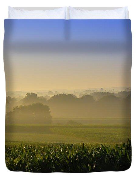 Lancaster County Sunrise Duvet Cover