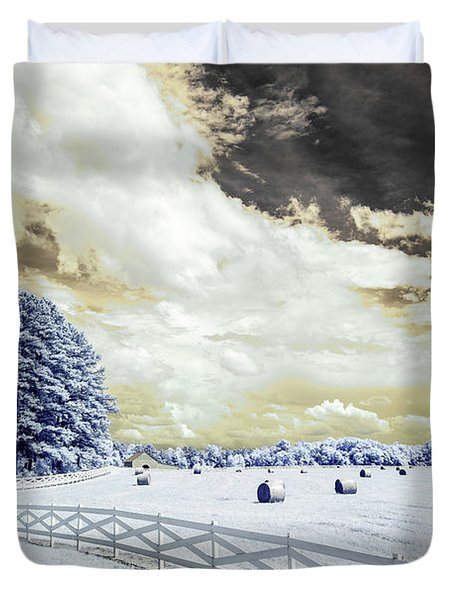 Lancaster Farm In Ir Duvet Cover