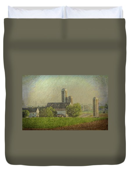 Lancaster Pennsylvania Farm Duvet Cover