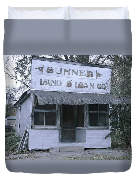 Land And Loan Co Duvet Cover