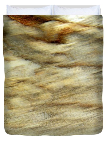 Duvet Cover featuring the photograph Land And Sky by Lenore Senior