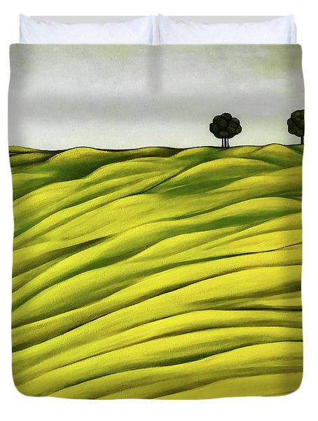 Land Of Breather Duvet Cover