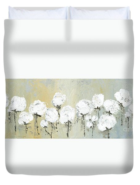 Land Of Cotton Duvet Cover by Kirsten Reed