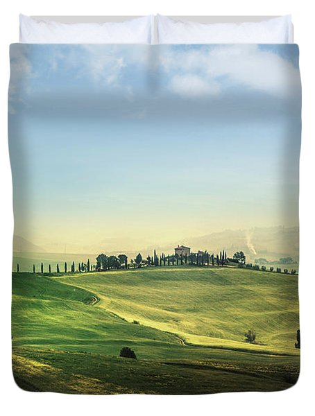 Land Of Dawn Duvet Cover