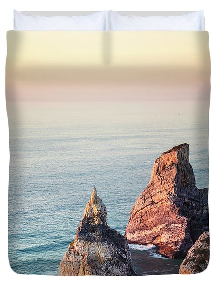 Land Of Eternal Sunset Duvet Cover