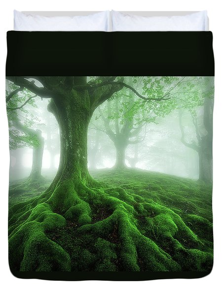 Land Of Roots Duvet Cover