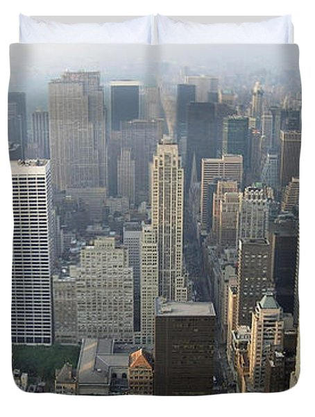 Land Of Skyscapers Duvet Cover