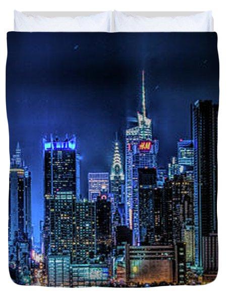 Land Of Tall Buildings Duvet Cover