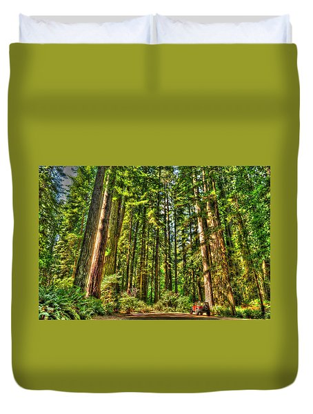 Land Of The Giants Duvet Cover