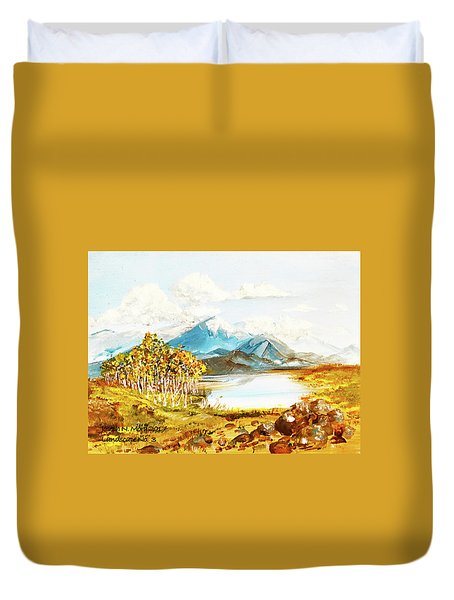 Land Scape No.-3 Duvet Cover