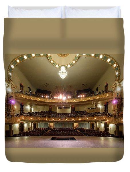 Landers Theatre Duvet Cover