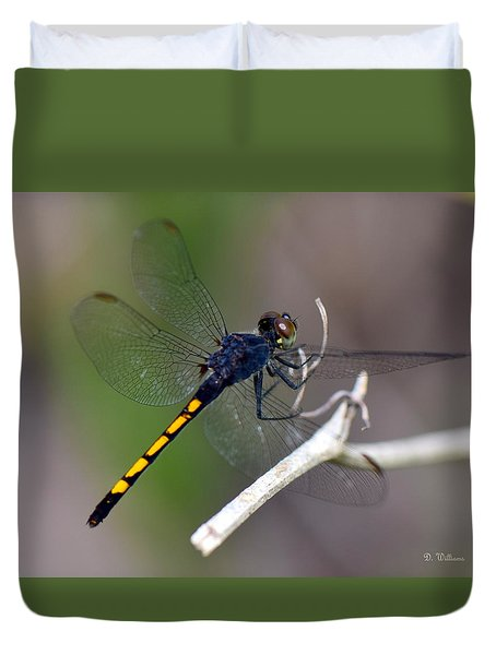 Landing For A Moment..... Duvet Cover