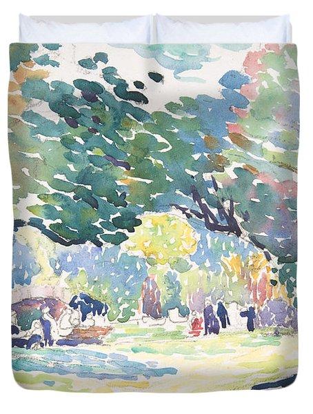 Landscape, 1904 Duvet Cover