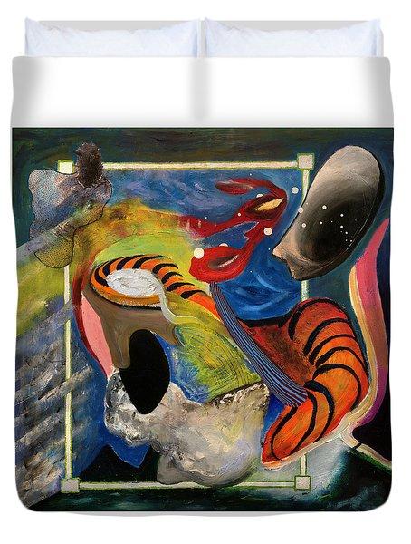 Landscape 3000 Duvet Cover by Antonio Ortiz
