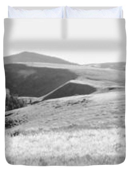 Landscape Above Currant Creek Duvet Cover