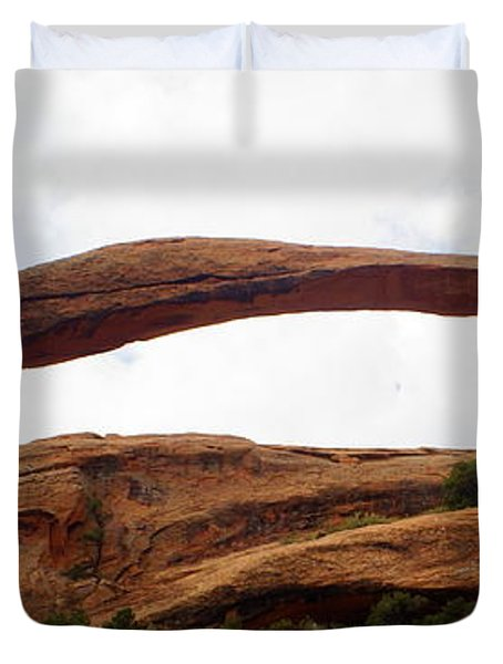 Landscape Arch 1 Duvet Cover by Marty Koch