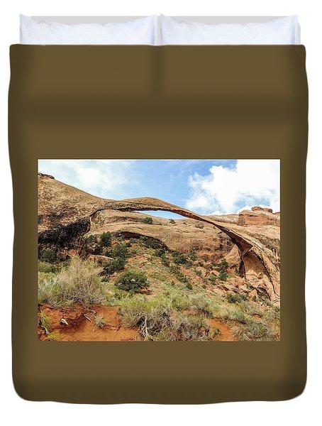 Landscape Arch Duvet Cover