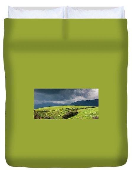 Landscape Aspromonte Duvet Cover