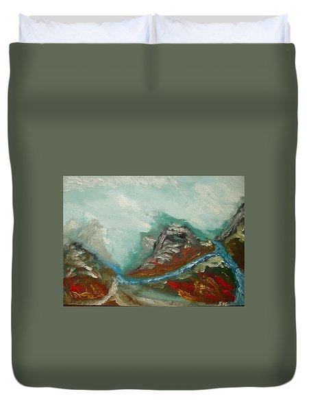 Landscape. Fantasy 19-2. Duvet Cover