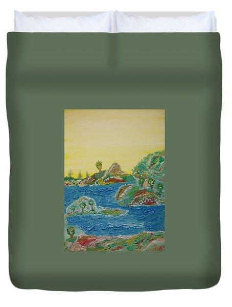 Landscape. Fantasy 28. Duvet Cover