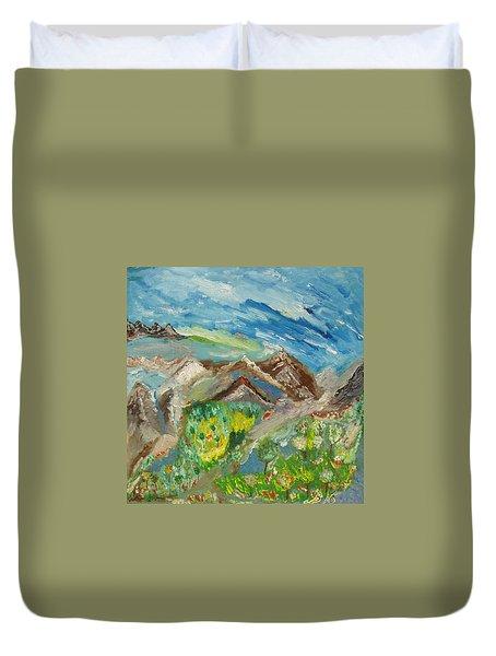 Landscape. Imagination 24. Duvet Cover
