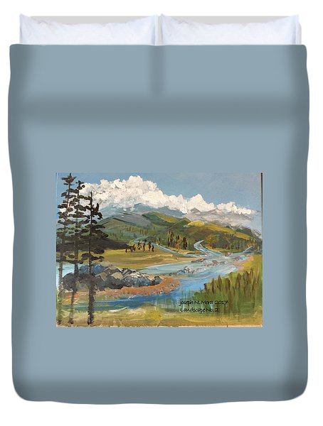 Landscape No._2 Duvet Cover