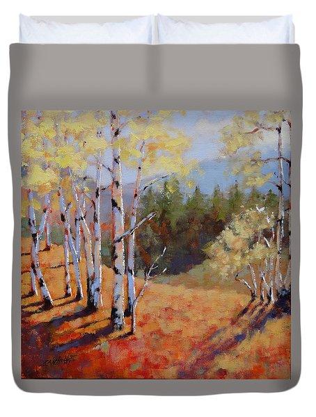Landscape Series 1 Duvet Cover by Laura Lee Zanghetti