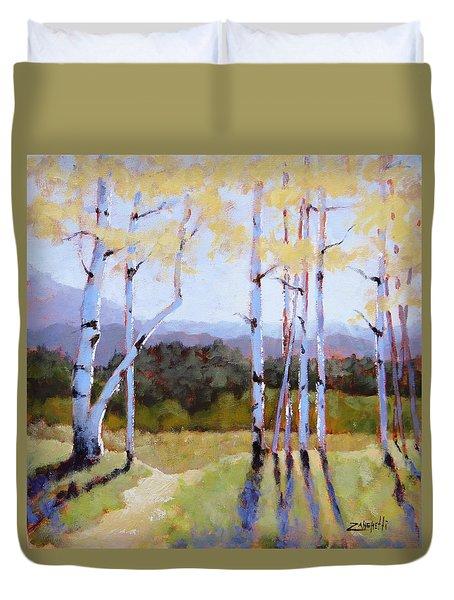 Landscape Series 2 Duvet Cover by Laura Lee Zanghetti