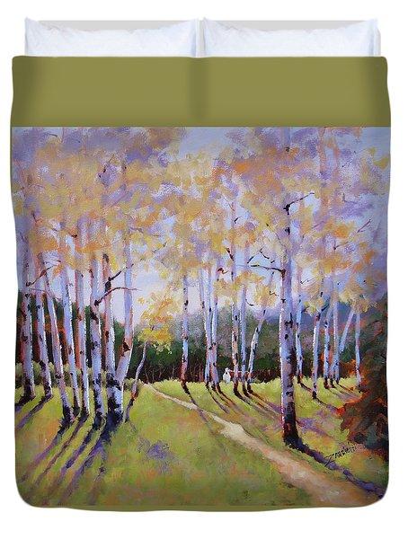 Landscape Series 3 Duvet Cover by Laura Lee Zanghetti