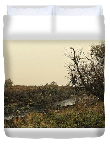 #landscape #stausee #mothernature #tree Duvet Cover