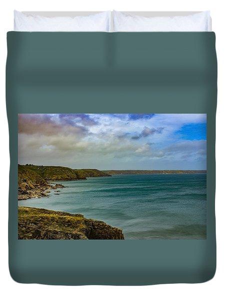 Landscape View  Duvet Cover